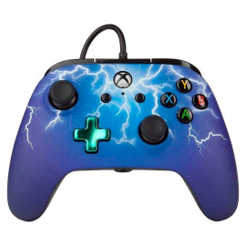 Mando con Cable Power A Spider Lightning Xbox One/PC