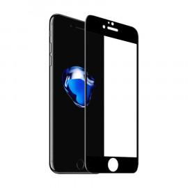 Protector Cristal Templado 3D iPhone 7/8 Negro