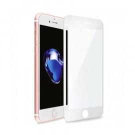 Protector Cristal Templado 3D iPhone 7/8 Blanco