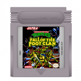 Turtles Fall Of The Foot Clan GB