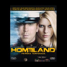 Homeland Temporada 1 (12 Cap) DVD