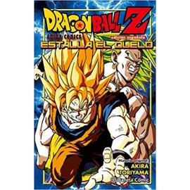 Manga Dragon Ball Z Estalla el Duelo Planeta