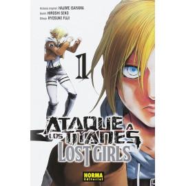 Manga Ataque a los Titanes LostGirls Norma 01