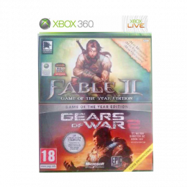 Fable II Goty + Gears of war 2 Xbox360 (SP)