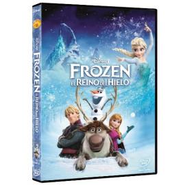 Frozen El Reino de Hielo Disney DVD