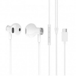 Auriculares con Microfono Xiaomi Tipo C Blanco