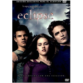 La Saga Crepusculo Eclipse DVD