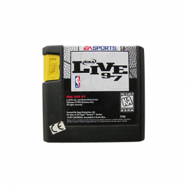 NBA Live 97 Mega Drive