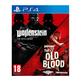 Wolfenstein Double Pack (New Order+Old Blood) PS4 (SP)
