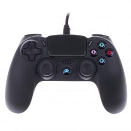 Mando con Cable F&G Negro PS4