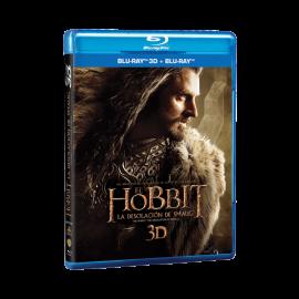 El Hobbit la Desolacion de Smaug 2D+3D BluRay (SP)