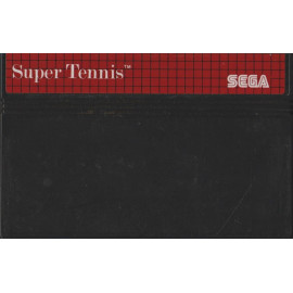 Super tennis The Sega Cartridge MS