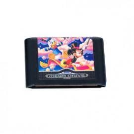 Donald and Mickey World Of Illusion Mega Drive