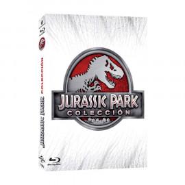 Jurassic Park Coleccion Cuatrologia BluRay (SP)