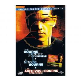 Pack Bourne: El Caso Bourne/ El Mito de Bourne/ Bonus Disc DVD