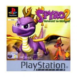 Spyro 2 En busca de los Talismanes Platinum PSX (SP)