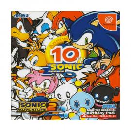 Sonic Adventure 2 10 Aniversario DC (JP)