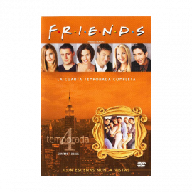 Friends Temporada 4 (24 Episodios) DVD
