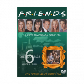 Friends Temporada 6 (25 Episodios) DVD