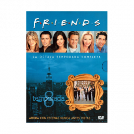Friends Temporada 8 (24 Episodios) DVD