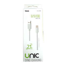 Cable USB Lightning Stima Pro 1,5m Blanco iPhone/iPad/iPod