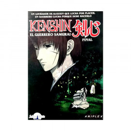 Kenshin El Guerrero Samurai Final DVD
