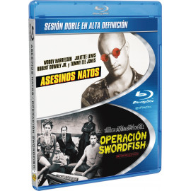 Pack Asesinos natos & Operacion Swordfish BluRay (SP)