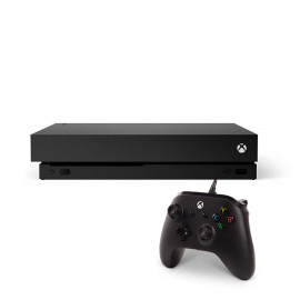 Pack: Xbox One X Negra 1TB + Mando Compatible
