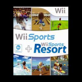 Wii Sports Resort Wii + Wii Sports Wii (SP)