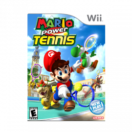 Mario Power Tennis Wii (SP)