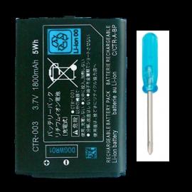 Bateria 2000 mah Nintendo 3DS/2DS/New 2DS XL