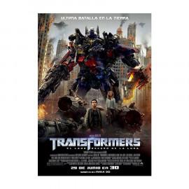 Transformers el Lado Oscuro de la Luna 2D+3D BluRay (SP)