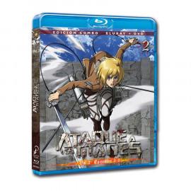 Ataque a los Titanes Temporada 1 Volumen 2 (Cap 5-8) BluRay (SP)