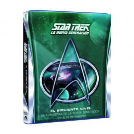 Star Trek La Nueva Generacion El Siguiente Nivel Volumen 1-3  BluRay (SP)
