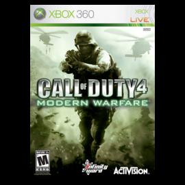 Call of Duty Modern Warfare Xbox360 (SP)