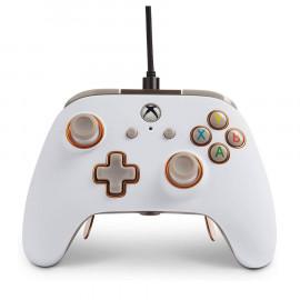 Mando con Cable Power A Fusion Pro Blanco Xbox One/PC