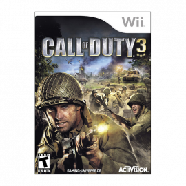 Call of Duty 3 Wii (SP)