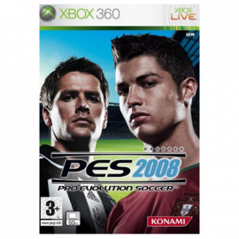 PES 2008 Xbox360 (SP)