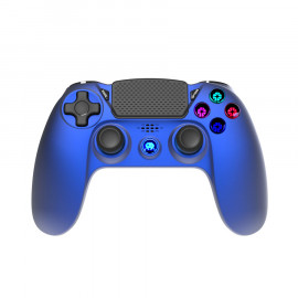 Mando Inalambrico Azul Metal F&G PS4