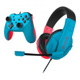 Pack BlackFire Neon Headset y Mando Switch