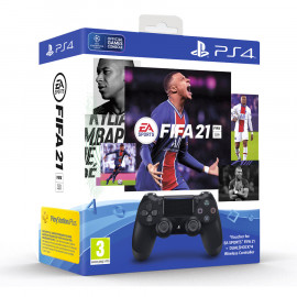 Pack Dual Shock 4 + Fifa 21 PS4 (SP)
