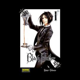 Manga Black Butler Norma 01