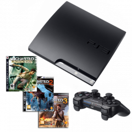 Pack: PS3 Slim 160GB Uncharted