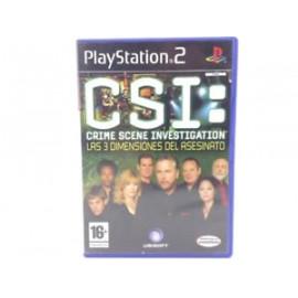 CSI: Crime Scene Investigation las 3 dimensiones del Asesino PS2 (SP)