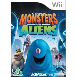 Monstruos contra Alienigenas Wii (SP)