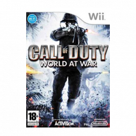 Call of Duty World at War Wii (SP)