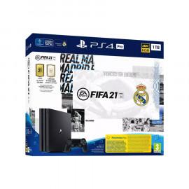 PS4 Pro 1 TB Negra Fifa 21 Real Madrid