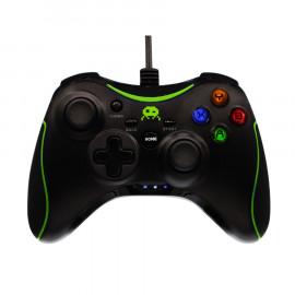 Mando con Cable Negro F&G Xbox360