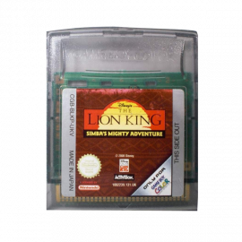 The Lion King: Simba's Mighty Adventure GBC