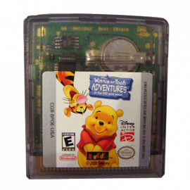 Winnie the Pooh adventures in the 100 acre wood GBC
